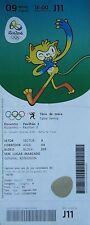 TICKET M 9.8.2016 OLYMPIA RIO Olympic Games da ping pong table tennis # j11