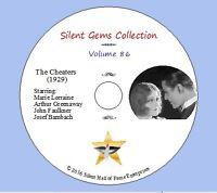 "DVD ""The Cheaters"" (1929) Marie Lorraine, Classic Australian Silent Crime Drama"