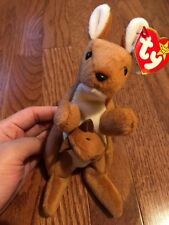 c0e3792bfcb TY Beanie Babies Collectible POUCH the Kangaroo Rare Retired NWT 11-6-1996