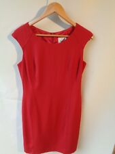 Lovers red sleeveless dress Size 12  lined