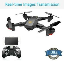 Rc Drone Quadcopter FPV Real Time HD Camera Wifi 2.0MP Xmas Kids Best Bday Gift