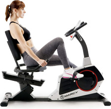 Exercise Fitness Bike Machine Monitor Quiet Comfortable Workout Home Gym Indoor