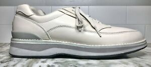 Rockport Mens Prowalker Leather Comfort Walking Sneakers Size 10.5 M Beige. EUC