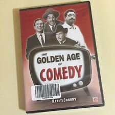 THE GOLDEN AGE OF COMEDY~~TIME LIFE~DVD~NEW AND SEALED~2004 BLACK & WHITE
