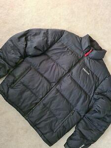 Mens Black Marmot Puffer Coat Jacket Size Xl 700 fill