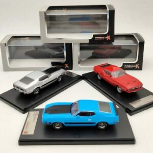 Premium X 1:43 Ford Mustang Mach 1 Blue/Silver/Red Models Car Limited Collection