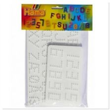 Hama Bead Peg Boards Alphabet Letters Numbers Set Pegboard Hama Beads