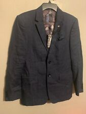 Ted Baker London Debonair Linen Suit Jacket Modern Fit Blazer 38R $609