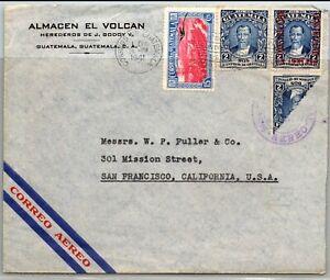 GP GOLDPATH: GUATEMALA COVER 1941 AIR MAIL _CV748_P05