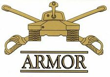 Army Armor Decal