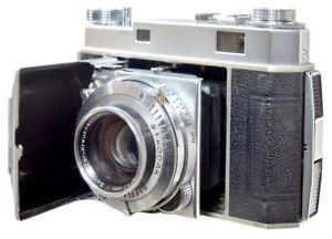 Kodak Retina II Schneider 50mm F2 Xenon  Shutter, finder and wind serviced by