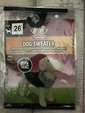 Hundemantel Hundesweater Trikot Jolly Back Strick grau Dogsweater Gr. 26 neu ovp