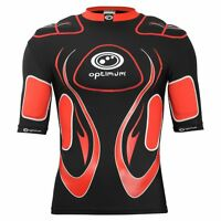 Optimum Sport Inferno Junior Rugby Top Removable Padding Full Length - 4 Colours