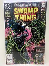 Swamp Thing #53 - Alan Moore - Batman - Vf/Nm