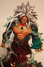 "Dragonball AF 14"" SSJ5 Broly Resin - LED lighted Base and interchangeable hand"
