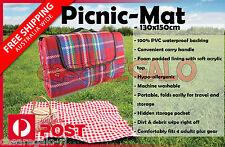 Portable Outdoor Camping Blanket Waterproof Mat Picnic Blanket Rug 130x150cm