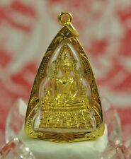 Genuine PHRA BUDDHA CHINNARAT THAI REAL AMULET SACRED CHARM TALISMAN PENDANT