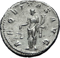 GORDIAN III 239AD Ancient Authentic Genuine Silver Roman Coin Aequitas   i70060