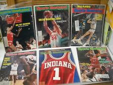 6 1970's Indiana Hoosiers Sports Illustrated & 18 Player Cards Benson Thomas