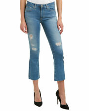 NEW! NWT AG The Jodi Crop Flare Jeans 12 Yrs Canyon Destroyed Size 29