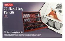 Derwent Sketching Pencil 72 Wooden Box
