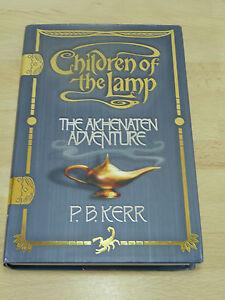 P. B. Kerr: Children of the lamp - The akhenaten adventure / Englisches Buch