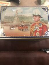 king edward viii Vintage Commemorative Biscuit Toffee Tin Royal Coronation