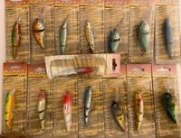 15 x Ikonix Jointed Minnow Fishing Lures - Plugs - Pike Perch Coarse Sea Fishing