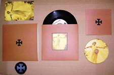 """Blood Axis Wir Rufen Deine Wölfe / The Ride 7"""" Brown box-set Ltd 15 Copies"""