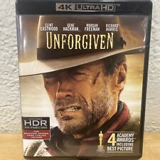 Unforgiven 4K Uhd Blu-ray, Like New w/ Unused Digital Code Clint Eastwood