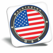 Awesome Fridge Magnet - Washington USA Flag America Cool Gift #9233