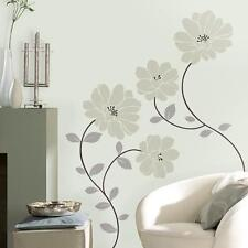 GERBER DAISIES WALL DECAL Ornamental Daisy Chain Floral Wall Stickers Home Decor