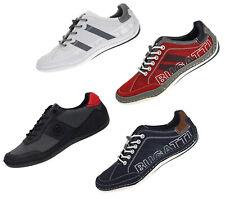 Bugatti Herren Sneaker Freizeitschuhe Sport Slipper Soft Fit 41-48 Neu 16011