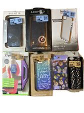 Apple iPhone 5 / 5s Phone Case Lot Of 7 -Agent, Tech 21, Belkin Arm Band & More