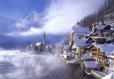 [Hallstatt, Austria] Puzzles 1000 pcs Jigsaw Winter Landscape TOMAX Art Toy