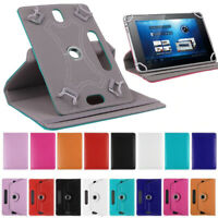 """Universal 360°Rotating Leather Case Cover For Huawei MediaPad 7"""" 10""""inch Tablets"""