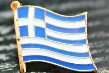 GREECE Greek Metal Flag Lapel Pin Badge *NEW*