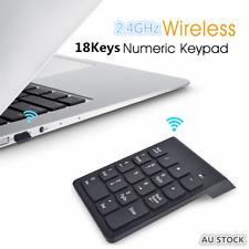 18 Keys 2.4GHz  Wireless Number Pad Numeric NumPad Keypad Keyboard Laptop/PC/Mac