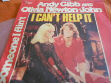 "7"" ANDY GIBB & OLIVIA NEWTON-JOHN - I CAN'T HELP IT *"