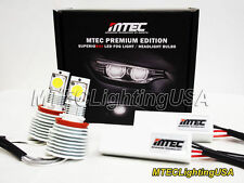 MTEC 6000K H11 LED LIGHTS MT-616 FOG LAMP SET 3100 Lumen Super WHITE ICE