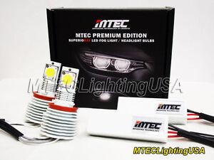Mtec 6000K H8 H9 H11 Luces LED MT-616 Luz Antiniebla Set 3100 Lumen Blanca Hielo