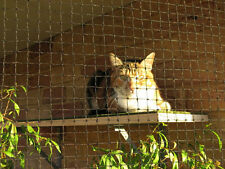 Cat Enclosure Netting  3m x 1.8m Low-Vis 19mm - FREE SHIPPING