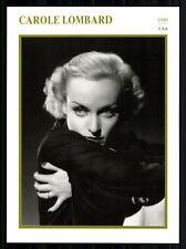 STARPORTRAITKARTE - Carole Lombard  + G 7879