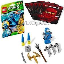 Lego Ninjago Ninja Jay ZX Minifigure Armor & Weapons ( 28pcs ) 9553 NEW
