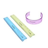 Super Flexible Ruler Measuring Drawing Tool Stationery Office School  FT
