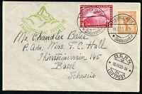 GERMANY ZEPPELIN COVER FRIEDSCHAFEN7/18/33 TO BERN SWITZERLAND  7/18/33