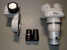 Nikon SM5 Microscope + Holder + Eyepiece 10x/23 + objective AL5