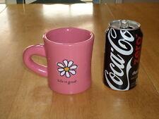 """ LIFE IS GOOD - DO WHAT YOU LIKE.  LIKE WHAT YOU DO. "", Ceramic Coffee Mug"