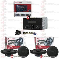 PIONEER FH-S520BT 2DIN CAR CD BLUETOOTH STEREO PLUS 4 x TS-G1620F 6.5