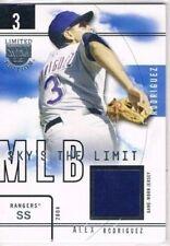 Alex Rodriguez Not Autographed 2004 Season Baseball Cards
